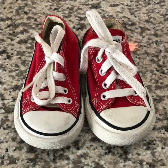 Converse Shoes | Red Toddler Converse